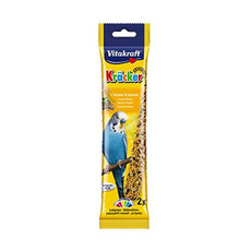 Vitakraft Kracker Budgie Stick Treats With Sesame And Banana 60g