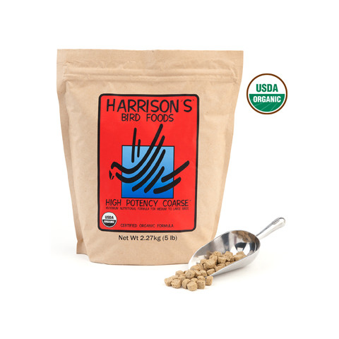 Harrisons High Potency Coarse Complete Organic Parrot Food 2.27kg