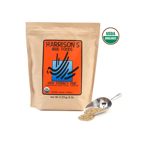 Harrisons High Potency Fine Complete Organic Parrot Food 2.27kg