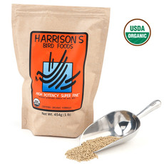 Harrisons High Potency Super Fine Complete Organic Bird Food 454g