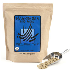 Harrisons Adult Lifetime Coarse Complete Organic Parrot Food 2.27kg