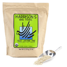 Harrisons Adult Lifetime Fine Complete Organic Parrot Food 2.27kg