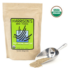 Harrisons Adult Lifetime Super Fine Complete Organic Bird Food 454g