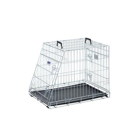 Savic Dog Residence Mobile Sloping Front Dog Crate 76x53x61cm