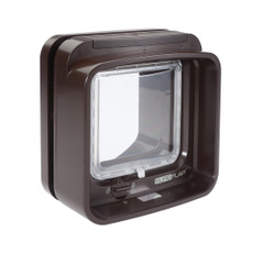 Sureflap Brown Dualscan Microchip Cat Flap