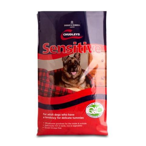 Chudleys Sensitive Dog Food 15kg