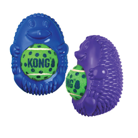 Kong Tennis Pals Hedgehog Dog Toy Small