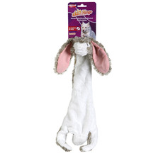 Animal Instincts Skin Flings Rabbit Stuffing Free Squeaky Dog Toy Large