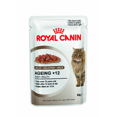 Royal Canin Ageing +12 Cat Food In Jelly Pouches 12 X 85g
