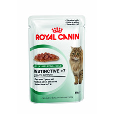 Royal Canin Instinctive 7+ Cat Food In Jelly Pouches 12 X 85g