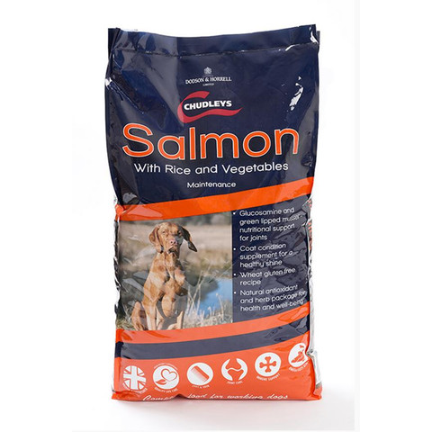 Chudleys Maintenance Salmon And Rice Dog Food 15kg