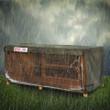 Single Guinea Pig Hutch Showerproof Cover Hugger 4ft