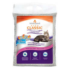 Intersand City Classic Baby Power Scented Clumping Cat Litter 7kg