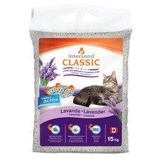Intersand City Classic Lavender Scented Clumping Cat Litter 15kg
