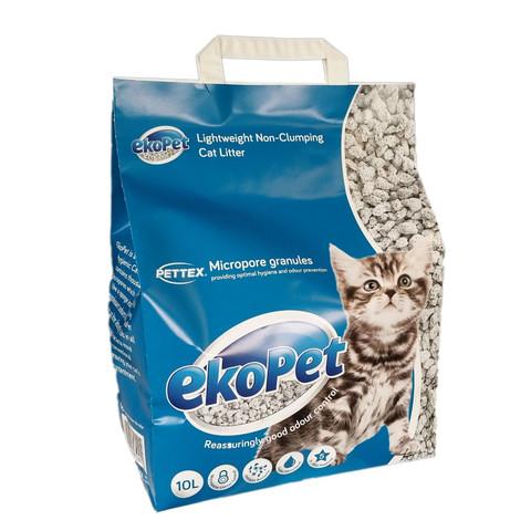 Pettex Ekopet Lightweight Non Clumping Cat Litter 10 Litre
