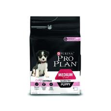 Pro Plan Medium Breed Optiderma Puppy Sensitive Skin Salmon Dog Food 3kg To 12kg