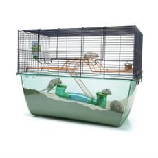 Savic Habitat Xl Gerbil And Hamster Cage 70x37x56cm