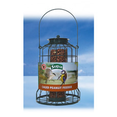 Supa Premium Metal Caged Guardian Peanut Feeder