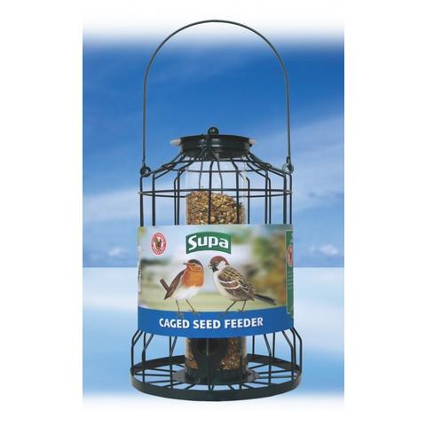 Supa Premium Metal Caged Guardian Seed Feeder