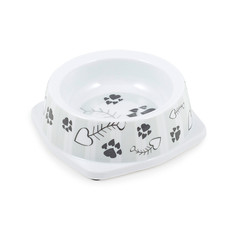 Ancol Grey Stripe Cat Bowl