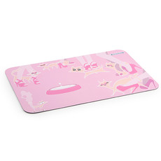 Ancol Pink City Kitty Cat Feeding Mat