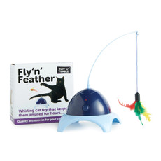 Sharples & Grant Ruff N Tumble Fly N Feather Motion Cat Toy