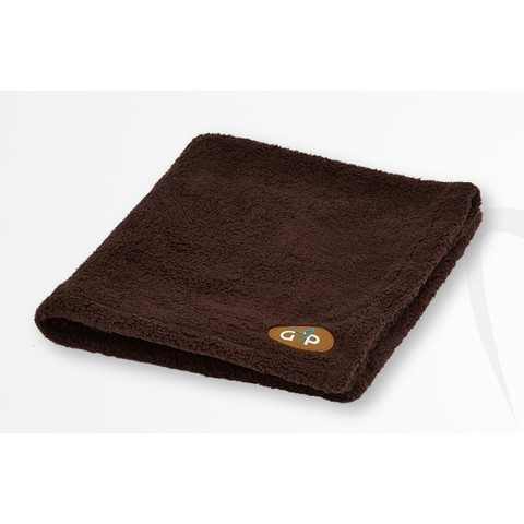 Gor Pets Fleece Pet Blanket In Brown 100x75cm To 150x100cm