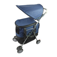 3petzzz All In One Pet Stroller Pushchair And Carrier