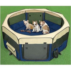 3petzzz Fabric Pet Play Pen 8 Sided 61x61cm