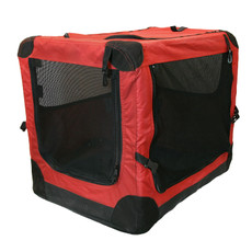 Dog Life Soft Canvas Pet Crate Carrier 81x58x58cm