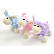 Ancol Small Bite Plush Lamb Dog Toy 15cm