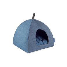 Ancol Blue Denim Pyramid Pet Bed