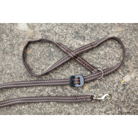 Gencon All-in-one Clip To Collar Coffee Head Collar And Lead
