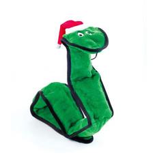 Ancol Christmas Super Santa Snake Tough Dog Toy Large
