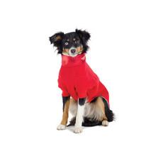 Ancol Muddy Paws Red Polar Fleece Dog Coat Small