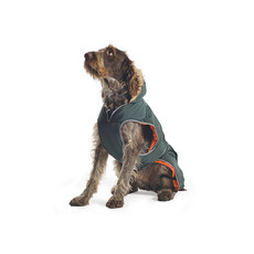 Ancol Muddy Paws Green Parka Dog Coat Small