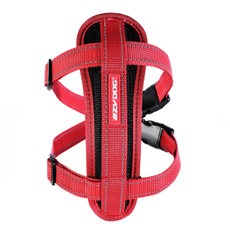 (d) Ezy Dog Red Chest Plate Dog Harness X Small