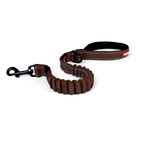 Ezy Dog Zero Shock Chocolate Dog Lead 25 Inch