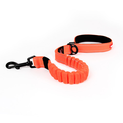 Ezy Dog Zero Shock Blaze Orange Dog Lead 25 Inch