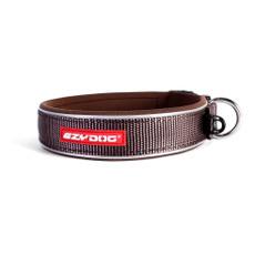 Ezy Dog Chocolate Neo Dog Collar Medium