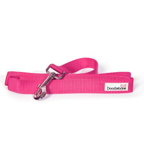 Doodlebone Pink Dog Lead 1.3m X 2cm