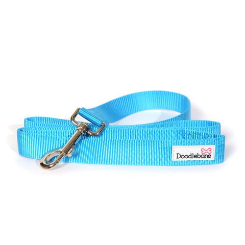 Doodlebone Cyan Blue Dog Lead 1.3m X 2cm