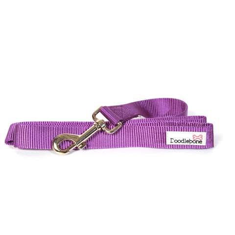 Doodlebone Purple Dog Lead 1.3m X 2cm