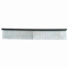 Groom Professional Chrome Fine/course Comb 19cm