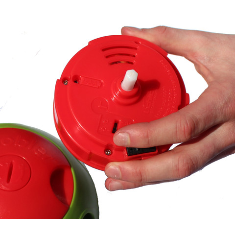 (d)foobler Electronic Timed Treat Feeder Puzzle Ball Large