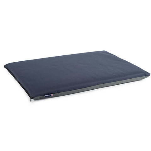 (d) Ancol Blue And Grey Waterproof Pad Dog Bed 92cmx61cm