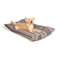 Danish Design Fairisle Bracken Deep Filled Duvet Dog Bed Medium