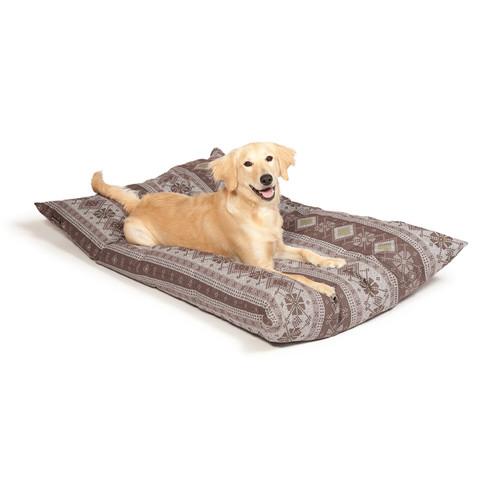 Danish Design Fairisle Bracken Deep Filled Duvet Dog Bed Medium