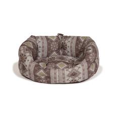 Danish Design Fairisle Bracken Deluxe Slumber Bed 61cm