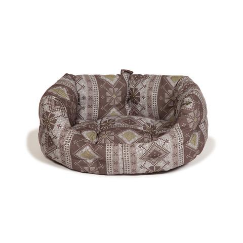 Danish Design Fairisle Bracken Deluxe Slumber Bed 76cm